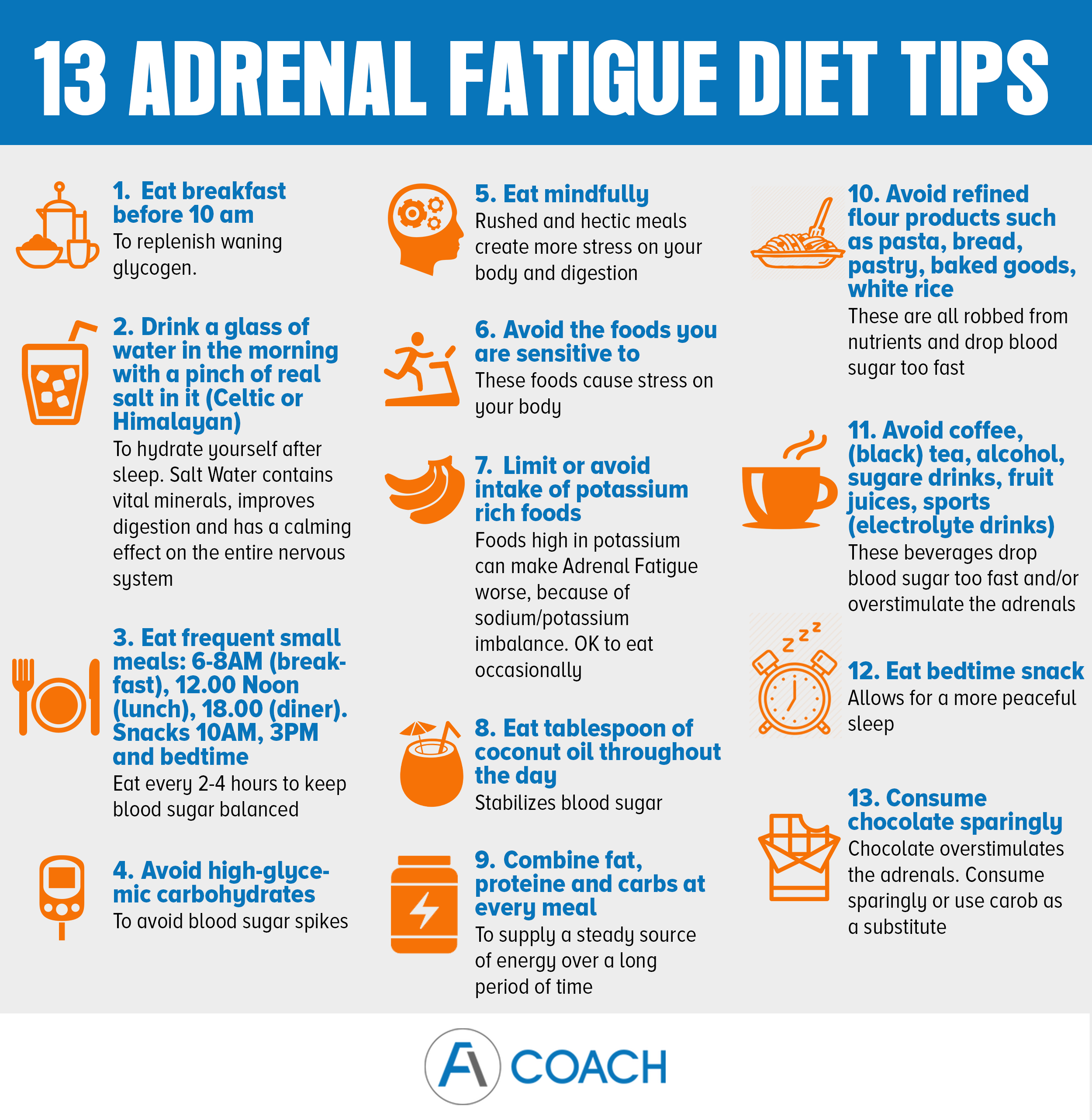 adrenal fatigue diet tips