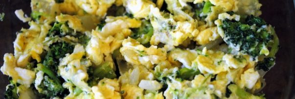 Adrenal Fatigue Veggie Scramble