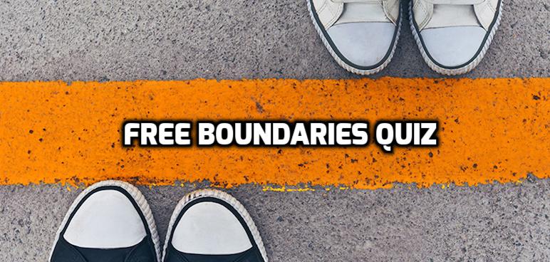 Boundaries Quiz