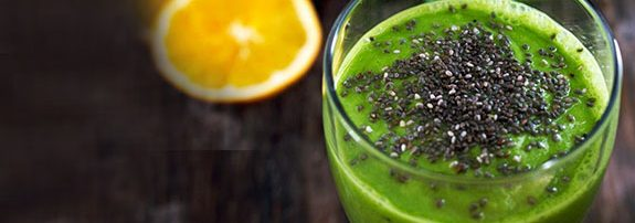 A Very Green Morning Smoothie